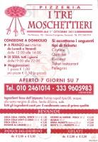 I Tre Moschettieri, Genova