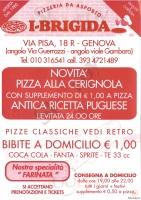 I-brigida, Genova