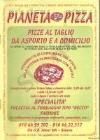 Pianeta Pizza, Genova
