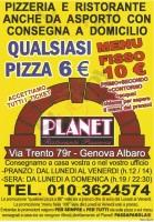 Planet, Genova