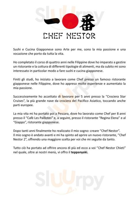 Menu Chef Nestor