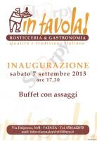 In Tavola, Faenza