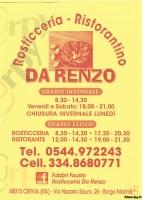 Da Renzo, Cervia