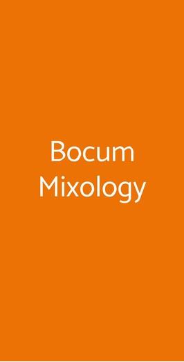 Bocum Mixology, Palermo