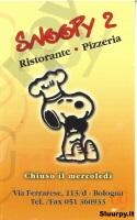 Snoopy 2, Bologna