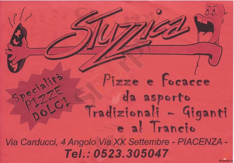 STUZZICA Piacenza menù 1 pagina