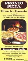 Pronto Pizza, Monterenzio