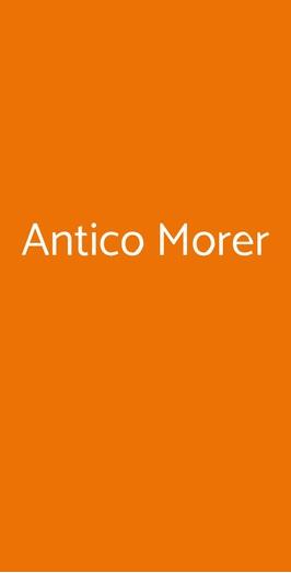 Antico Morer, Treviso