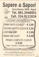 Sapere E Sapori, Napoli