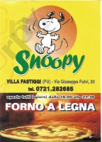 Snoopy, Pesaro