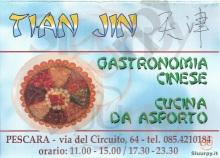 Tian Jin, Pescara