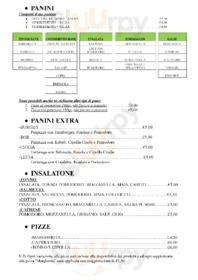 Menu Bar Il Correggio