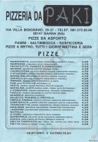 Da Paki, Napoli