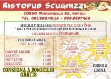Pizzeria Scugnizzi Ristopub, Napoli