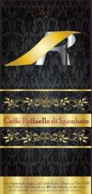 Menu Caffè Raffaello