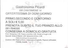Gastronomia Picardi, Napoli