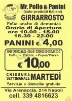 Mr. Pollo & Panini, Napoli