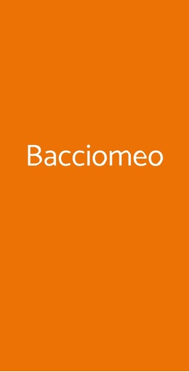 Bacciomeo, Palaia