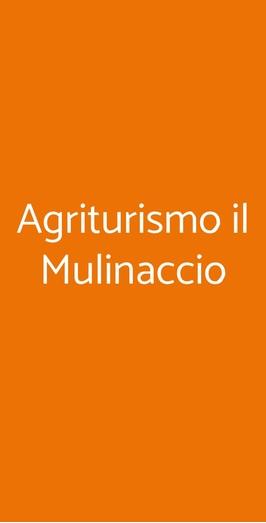 Agriturismo Il Mulinaccio, Santa Luce