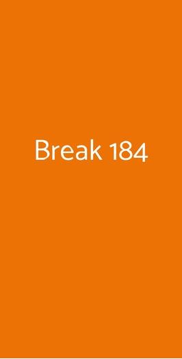 Break 184, Bari