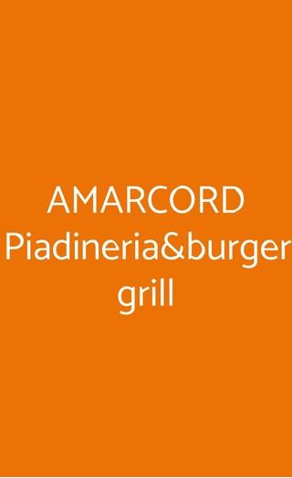 Amarcord Piadineria&burger Grill, Busto Arsizio