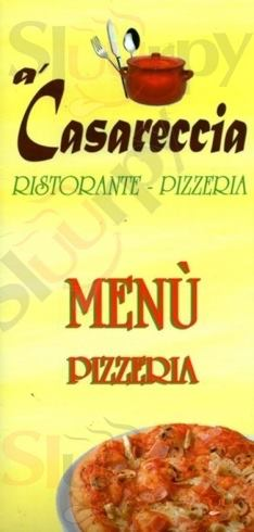 A CASARECCIA Giugliano in Campania menù 1 pagina