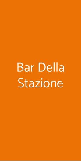 Bar Della Stazione, Monopoli