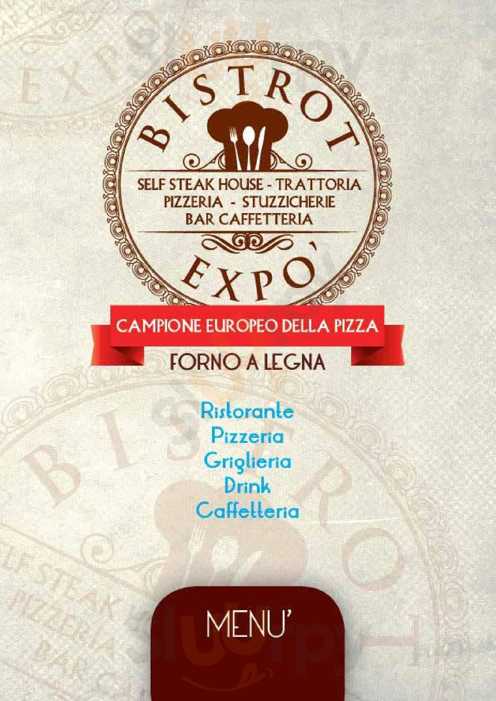 Bistrot Expo Gavirate menù 1 pagina