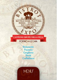 Menu Bistrot Expo
