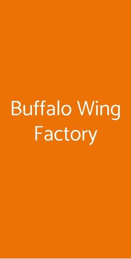 Buffalo Wing Factory, Piombino