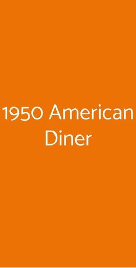 1950 American Diner, Livorno