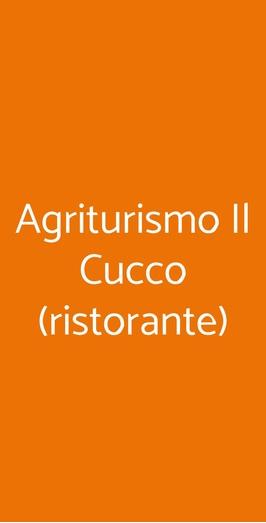 Agriturismo Il Cucco (ristorante), Malalbergo