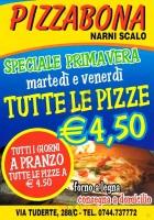 Pizzabona, Narni