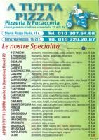 A Tutta Pizza - Genova, Via Pessale, Genova