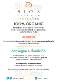 Bio's Kitchen, Rimini