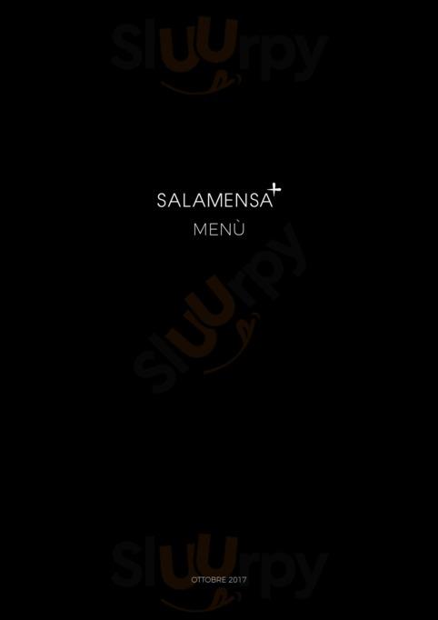 Menu Dal Dosso Salamensa