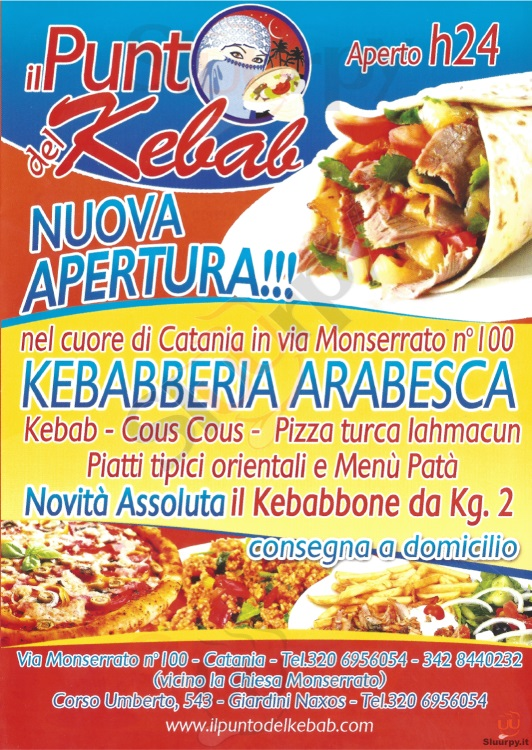 IL PUNTO DEL KEBAB - Giardini Naxos Giardini Naxos menù 1 pagina