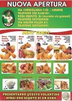 King Fried Chicken, Via Fillak,, Genova