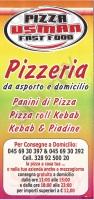 Pizza Usman, Via Mondadori, Verona