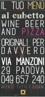 Pizzaalcubo - Padova, Via Vlacovich, Padova