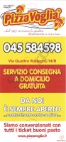 Pizzavoglia, Via Ognibene, Verona