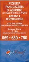 Que Pizza, Carpi