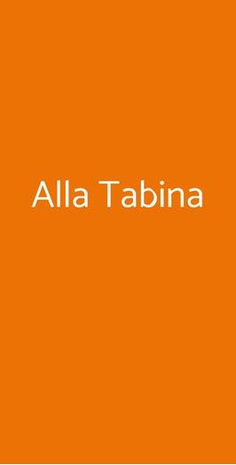 Alla Tabina, Martellago