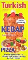Turkish Kebap Pizza, Casale Monferrato