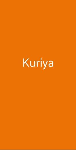 Kuriya, Roma