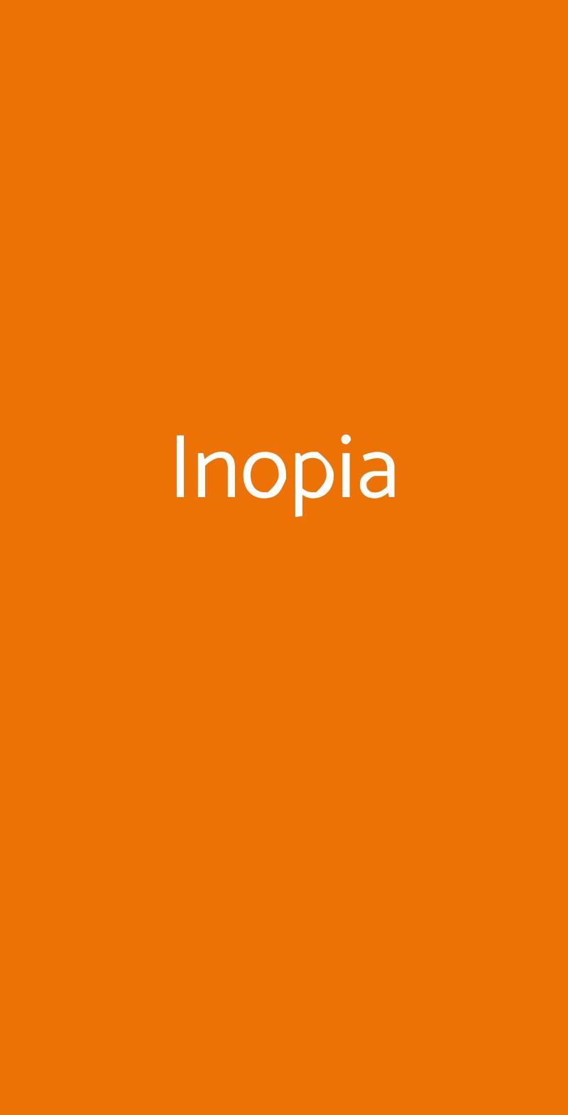 Inopia Roma menù 1 pagina