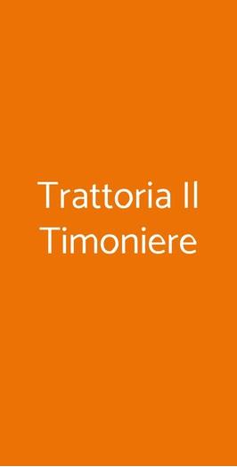 Trattoria Il Timoniere, Roma