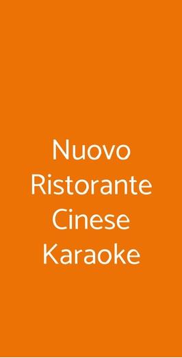 Nuovo Ristorante Cinese Karaoke, Roma