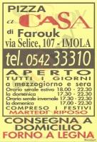 Pizza A Casa Di Farouk, Imola
