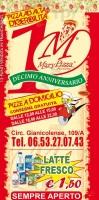 Mary Pizza, Circonvalazzione Gianicolense, Roma